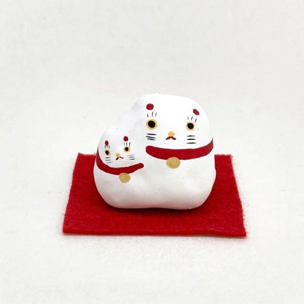画像1: [張子]矢嶋美夏/くっつき猫 (敷布付き)