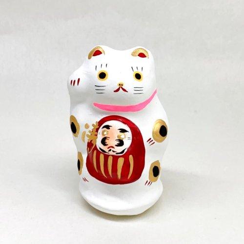 その他の写真2: [張子]矢嶋美夏/川越だるま抱き猫