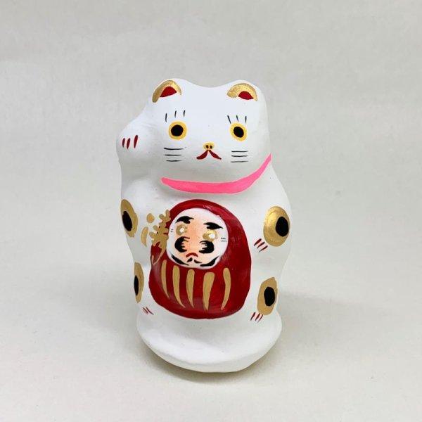 画像1: [張子]矢嶋美夏/川越だるま抱き猫