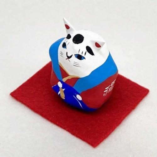 その他の写真1: [張子]矢嶋美夏/豆猫助 (敷布付き)