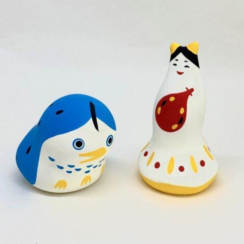その他の写真1: [土人形]下浦土玩具/アマビエ