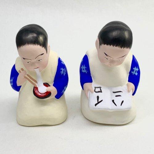 その他の写真1: [土人形]津屋崎人形/本読み童子