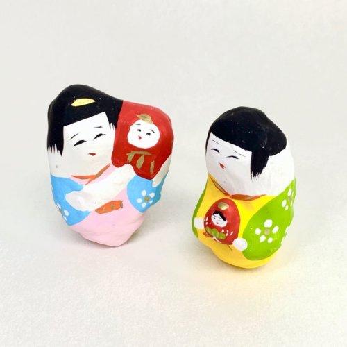 その他の写真1: [張子]松崎大祐/おぼこ・ダルマかつぎ