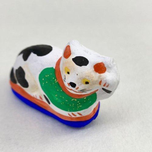 その他の写真2: [土人形]古型今戸人形/丸〆猫(小・臥姿)