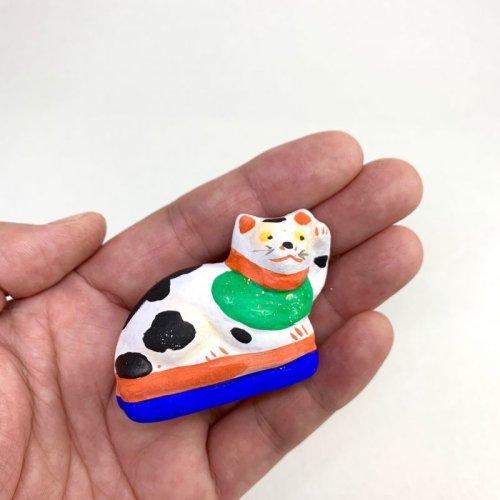 その他の写真3: [土人形]古型今戸人形/丸〆猫(小・臥姿)