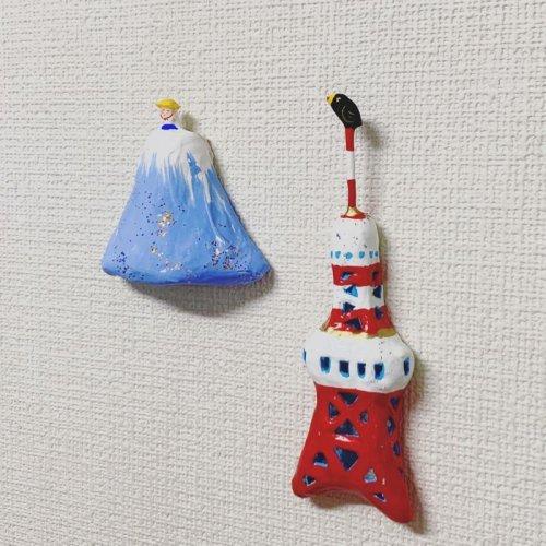 その他の写真1: [張子]松崎大祐/東京タワー(壁掛け)