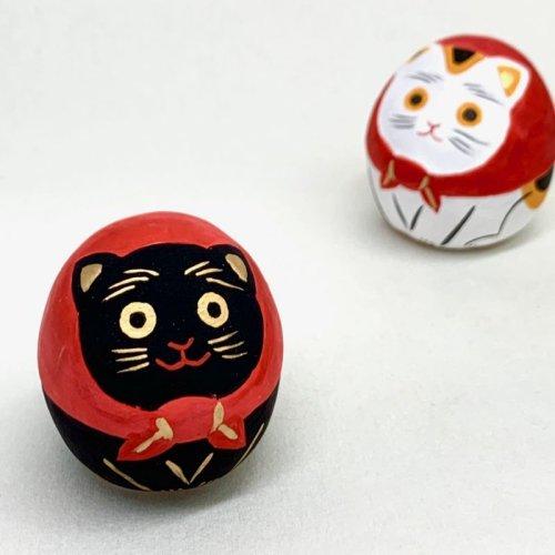 その他の写真2: [土鈴] ももさだ土人形/スカーフ猫