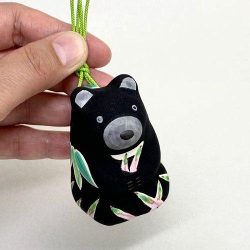 その他の写真2: [土鈴] ももさだ土人形/タケノコ熊