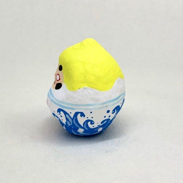 画像2: [張子] 山口さくら/かき氷だるま(レモン)