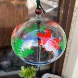 [ガラス]江戸風鈴/金魚