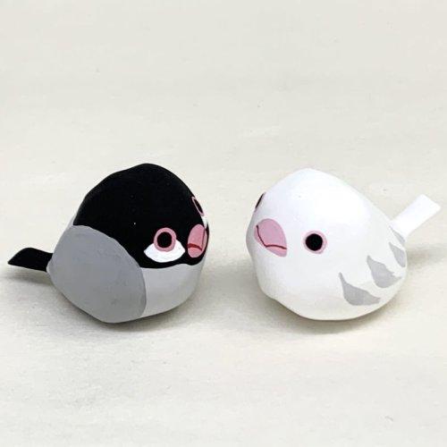 その他の写真2: [張子]矢嶋美夏/豆鳥・シロブンチョウ