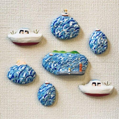 その他の写真2: [張子]松崎大祐/海(漁船)