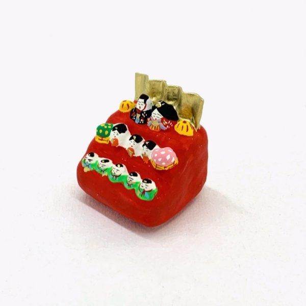画像2: [張子] 松崎大祐/豆雛三段飾り
