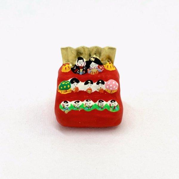 画像1: [張子] 松崎大祐/豆雛三段飾り