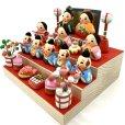 画像5: [土人形]門司ヶ関人形/五人囃子組物