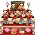 画像3: [土人形]門司ヶ関人形/五人囃子組物